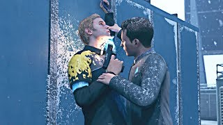 Detroit: Become Human - Connor is Traumatized, After Seeing Jericho