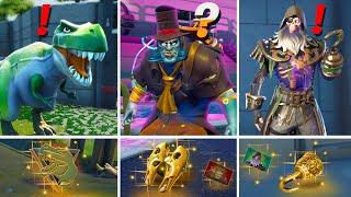 ALL NEW Bosses, Mythic Weapons & Keycard Vault Locations (Boss Dinosaur, Sailor, Good Doctor)