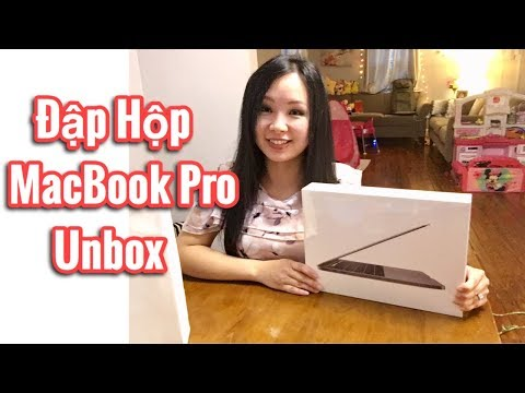 Đập Hộp Apple MacBook Pro | Cuộc Sống Mỹ | 🇺🇸Vlog96 | Unbox MacBook Pro Laptop