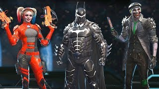 Injustice 2 Legendary Edition - All NEW Epic Gear Sets (All Characters Including All DLC)