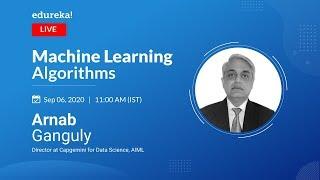 Machine Learning Algorithms Explained | Machine Learning Tutorial | ML Training | Edureka