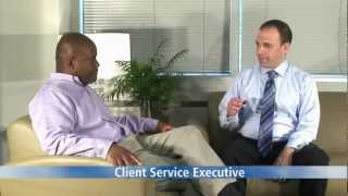 Who is a client service executive
