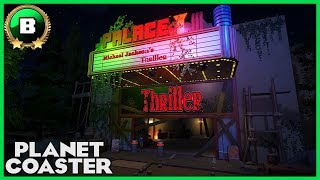 Michael Jackson's Thriller! Builder Entry 12 Halloween Contest #PlanetCoaster