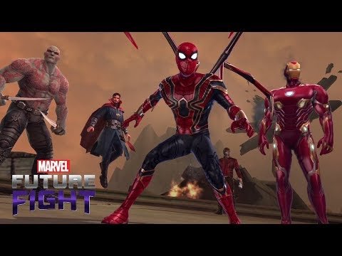 Marvel Future Fight Part 95 - Avengers Infinity War Update Live! All Costumes Previewed + Battles!