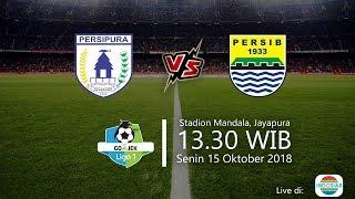 Live Streaming Indosiar, Persipura Vs Persib Bandung di Liga 1 2018, Pukul 13.30 WIB