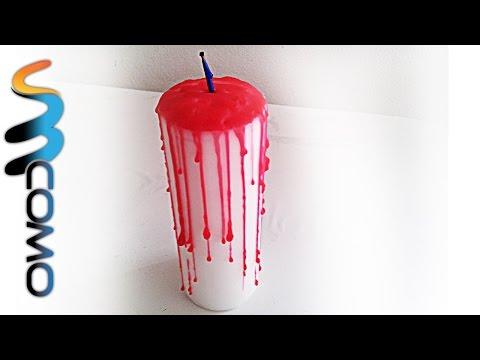 Vela Sangue p/ Halloween