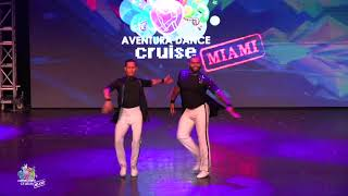 Jonathan y Jorge ~ Aventura Dance Cruise 2018 ~ Worlds Largest Latin Dance Cruise