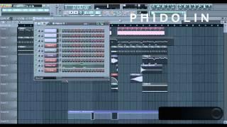 Fl Studio Remake : Afrojack & Wrabel - We'll Be Ok (Afrojack Remix) (Drop) [Phidolin Remake] + FLP