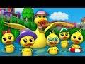Download Lagu Lima bebek kecil  sajak anak-anak  Nursery Songs  Five Little Ducks Mp3 Free