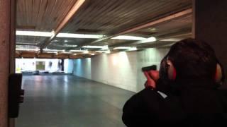 Ozan Yasin Dogan Shooting with Glock G34 X