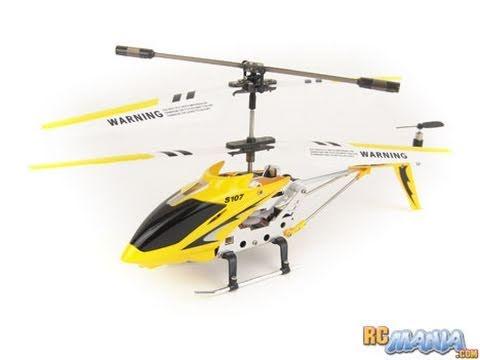 SYMA S107G обзор комплектации и тестовый полёт
