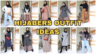 MIX AND MATCH OUTFIT HIJAB | OUTFIT IDEAS BY ISHMA RAHMI | INDONESIA