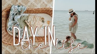 Getting things done before baby's arrival | Day in the life + pregnant SAHM