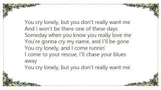 Chris Knight - Cry Lonely Lyrics