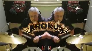 Born to be wild Krokus version drum cover