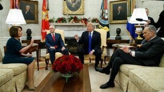 Can Trump, Pelosi and Schumer find middle ground on border wall funding?