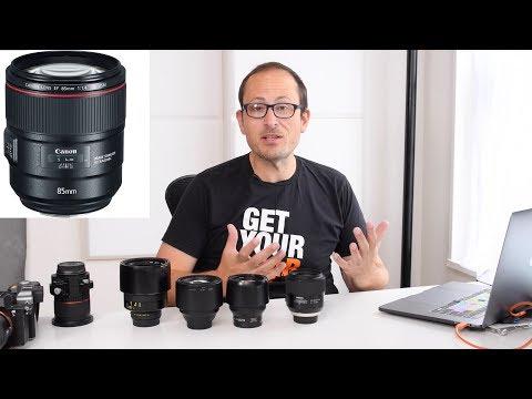 Canon 85mm F1.4L m100 & 3 new tilt shift lenses