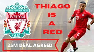 THIAGO 25M DEAL AGREED | Transfer Agenda Show | LFC News & Chat