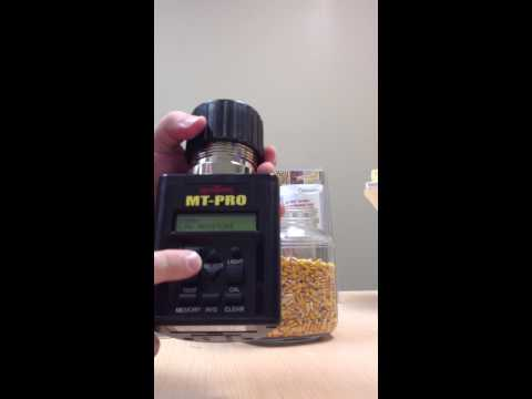 Agratronix MT-Pro Grain Tester quick training session