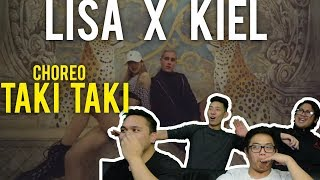 LISA X KIEL TUTIN CHOREOGRAPHY (Reaction)