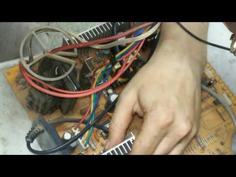 ремонт телевизора erisson 2120 не включается, +ремонт кадровой развертки