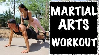 5 Minute At Home Martial Arts Workout - Amazing! by Kung Fu & Tai Chi Center w/ Jake Mace