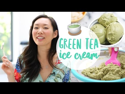 Video 3 Ingredient ♥ Green Tea (Matcha) Ice Cream Recipe