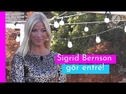 Här kliver Sigrid Bernson in i Villan I Love Island Sverige 2019