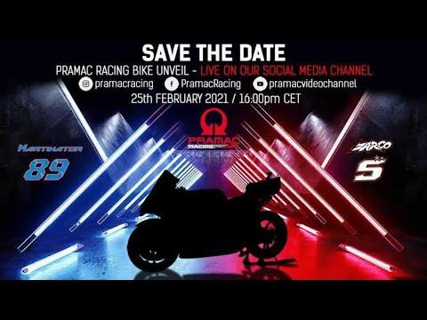 プラマックレーシングがMotoGP2021年のチーム体制と2021年マシンを発表ライブ配信動画