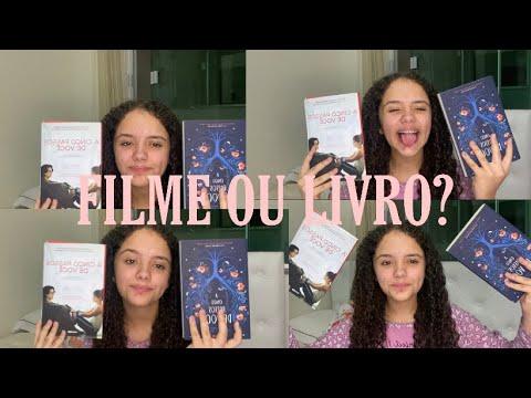 FILME X LIVRO- A CINCO PASSOS DE VOCÊ!