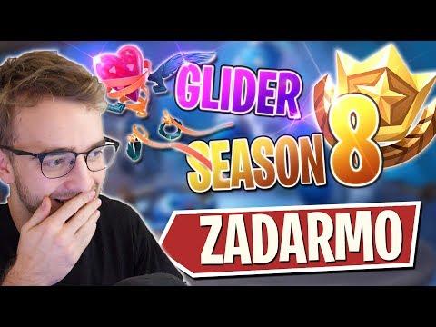 SEASON 8 BATTLEPASS A GLIDER ZADARMO?!