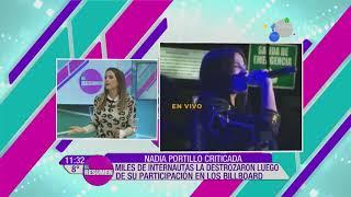 ¡Destrozaron A Nadia Portillo Luego De Su Presentación En Los Billboard!