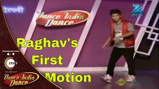 Raghav Crockroaxz First Slow Motion Performance - Dance India Dance