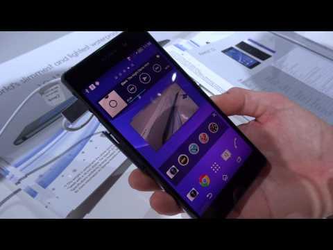Foto Sony Xperia Z2: focus interfaccia utente e nuove funzioni