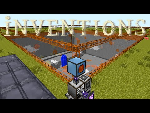 Minecraft Mods FTB Inventions - AUTOMATED MINING [E07]