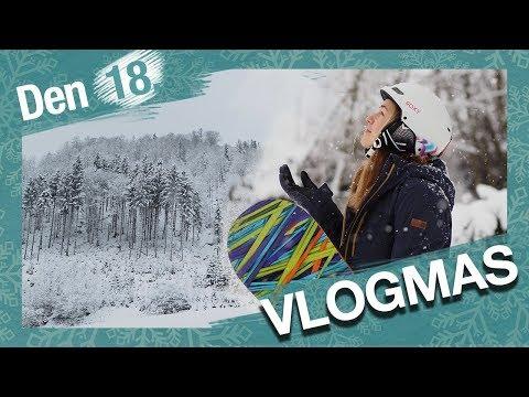 VLOGMAS Den 18. | Hory a měsíční plánovače pro 2018!