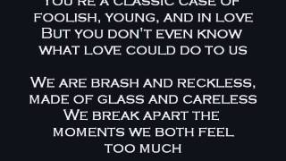 All Time Low - Just the way I'm not [Lyrics]