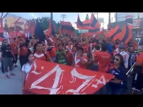 """""""La barra 47 y la deport"""" Barra: Guardia Roja • Club: Tiburones Rojos de Veracruz"""