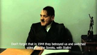 Hitler is informed about Romania's National Day