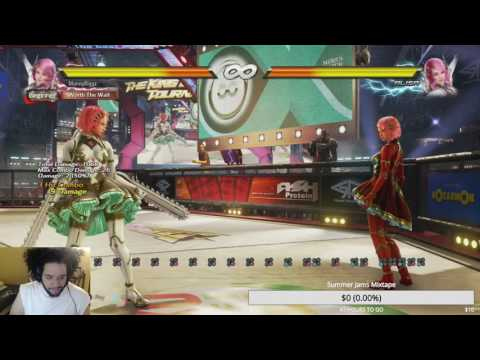 Tekken 7 Alisa Review/Move List Runthrough Part 1