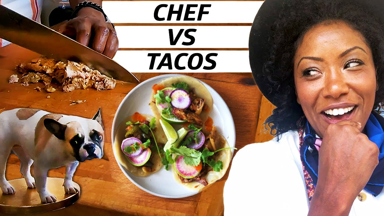Chef Challenge: Carnitas Tacos Two Ways — Improv Kitchen thumbnail