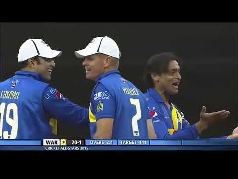 Shoaib Akhtar Bowling After 5 Years And It's Amazing   Shoaib And Sachin Team Up