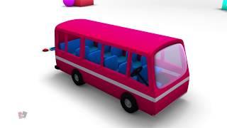 รถบัส unboxing | วิดีโอรถ | รถของเล่น | Unboxing Bus | Bus For Kids | Transport Bus | Toy Vehicle