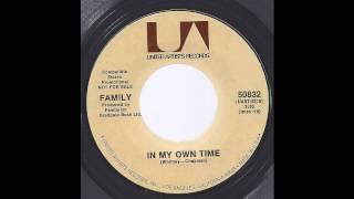 Family (Roger Chapman) - In My Own Time - '71 Folk Rock