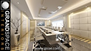 Interior Design Of Luxurious Corporate Offices In UAE & Dubai 01