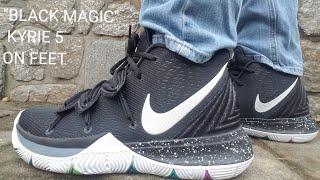 909a9a11be90d7 Nike Kyrie 5 Black Magic Multi-ColorWhite AO2918-901 - Kênh video ...