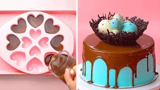 Homemade Chocolate Cake Decorating Tutorial | So Yummy Cake Ideas | Tasty Plus Cake