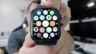 Apple Watch Series 4 (Space Gray 44mm w/ Black Sport Loop) Unboxing