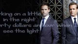 [Suits Theme] Greenback Boogie - Ima Robot *Lyrics on Screen* -[HD]
