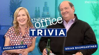 """""""The Office"""" Trivia with Angela Kinsey and Brian Baumgartner"""